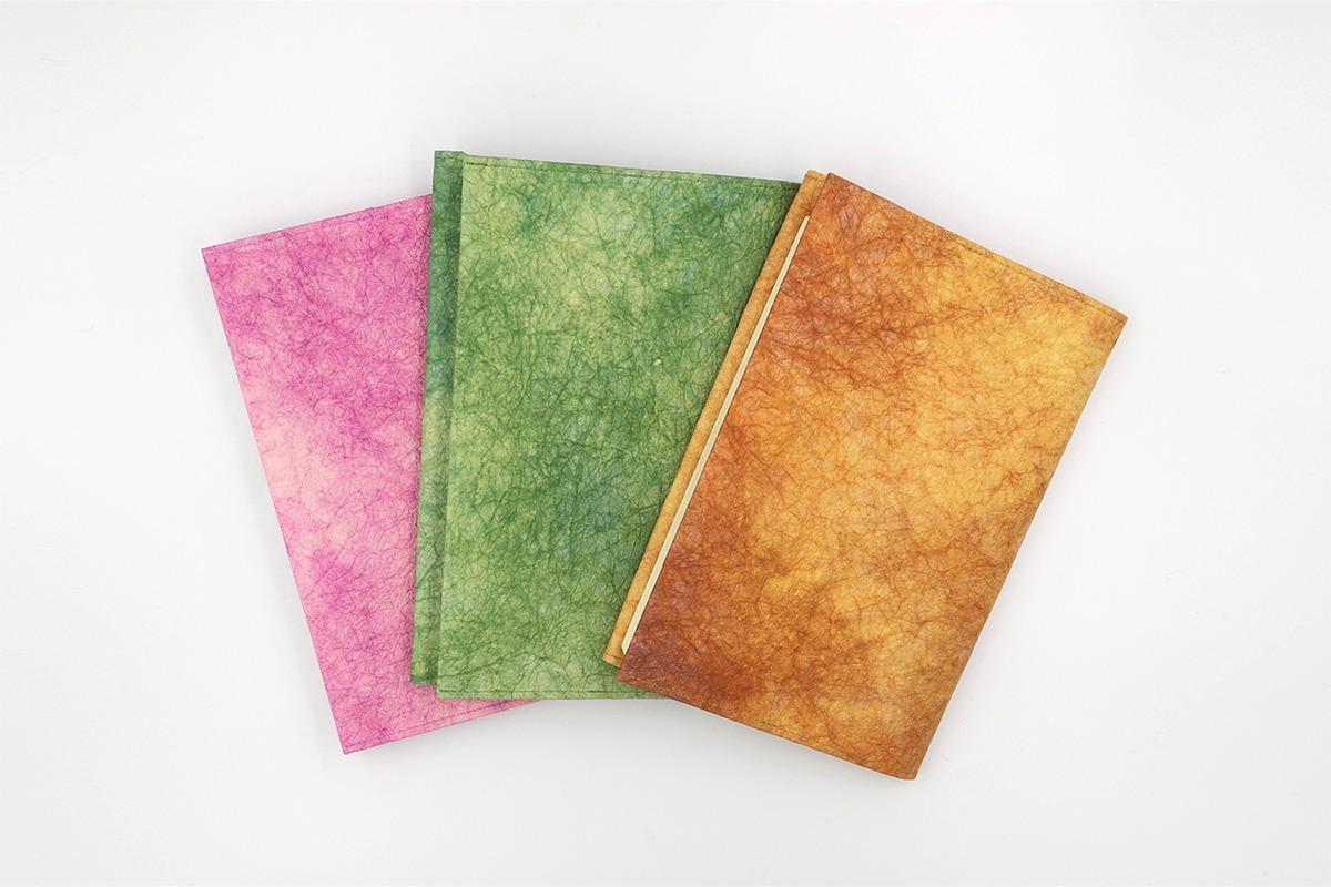 銀座 蔦屋書店 職人の伝統技術が光る<br>「和紙ブックカバー」の新色を限定発売