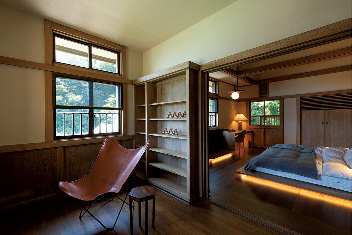 フランクロイドライトの愛弟子と隈研吾の愛弟子が手掛けた名建築で別荘ステイ『加地邸』