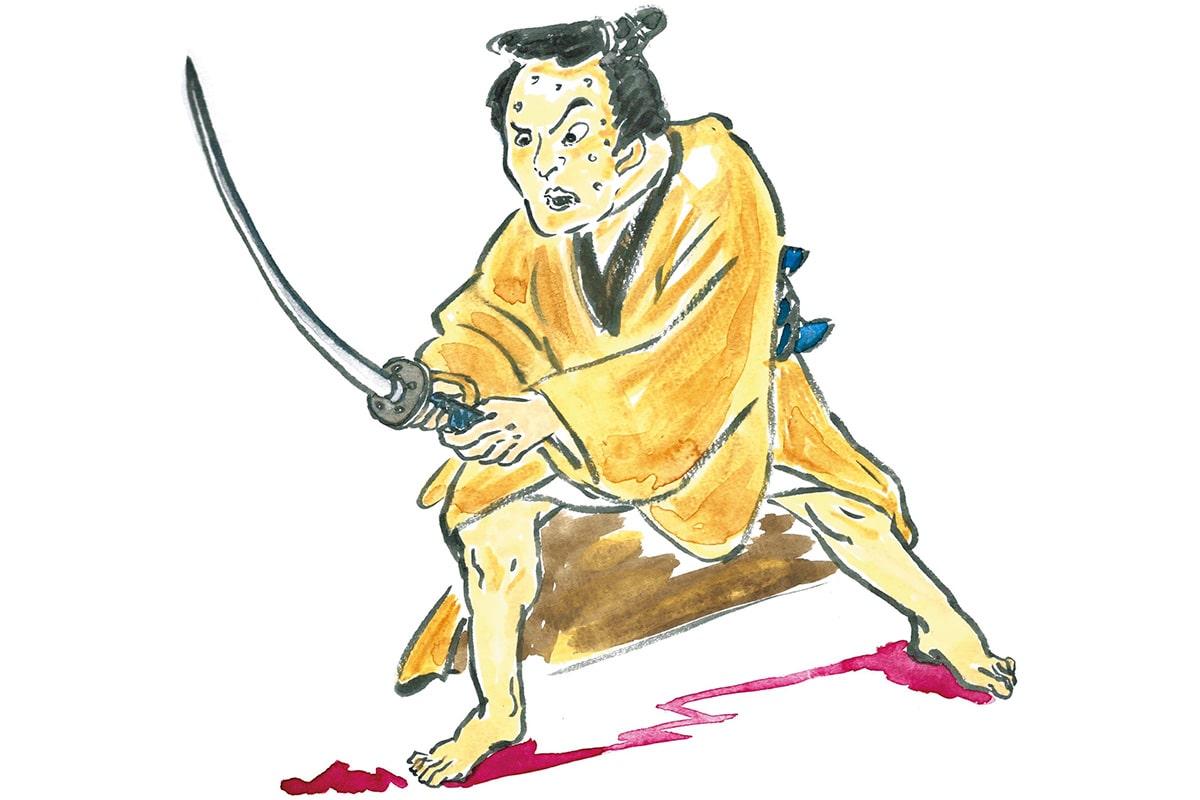 次郎左衛門、八ツ橋と出会う<br>「大人の遊び場」<br><small>おくだ健太郎の歌舞伎キャラクター名鑑</small>