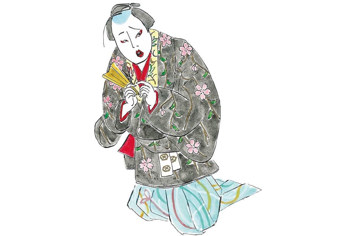 浮気者のお殿さまを待つ修羅場<br>「身替座禅」山蔭右京と奥方玉の井<br><small>おくだ健太郎の歌舞伎キャラクター名鑑</small>