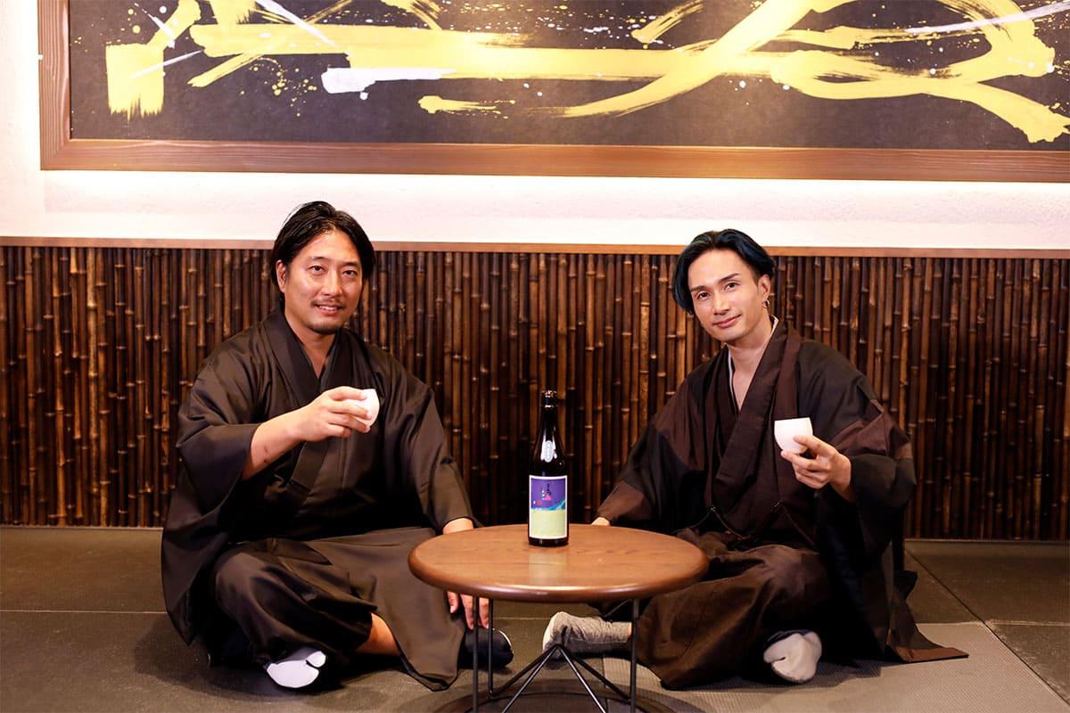 リモートでコラボ酒を試飲!<br>橘ケンチ「守破離橘オンラインの会」を開催