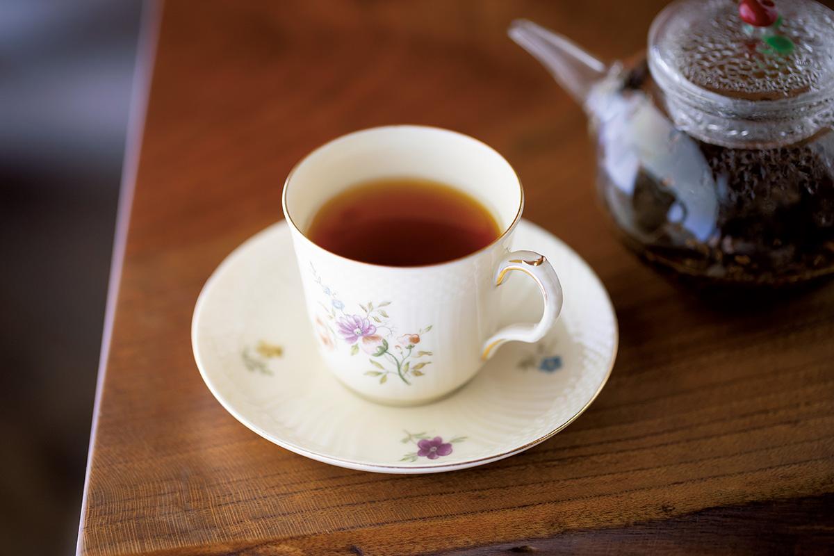 緑茶だけではない京のお茶<br> 「椿堂茶舗」の京都紅茶<br><small>買って帰りたい京都</small>