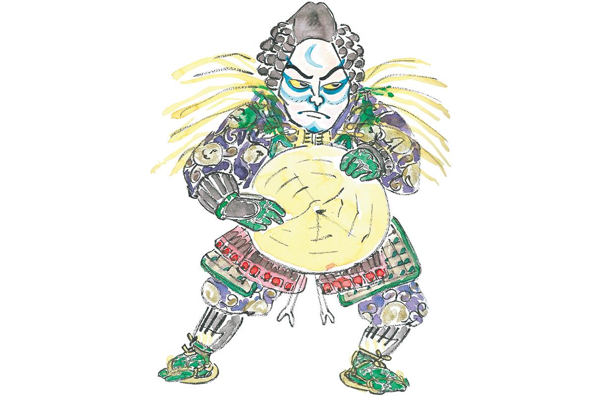 明智光秀とその家族を襲う苦しみ<br>「絵本太功記」光秀と皐月<br><small>おくだ健太郎の歌舞伎キャラクター名鑑</small>