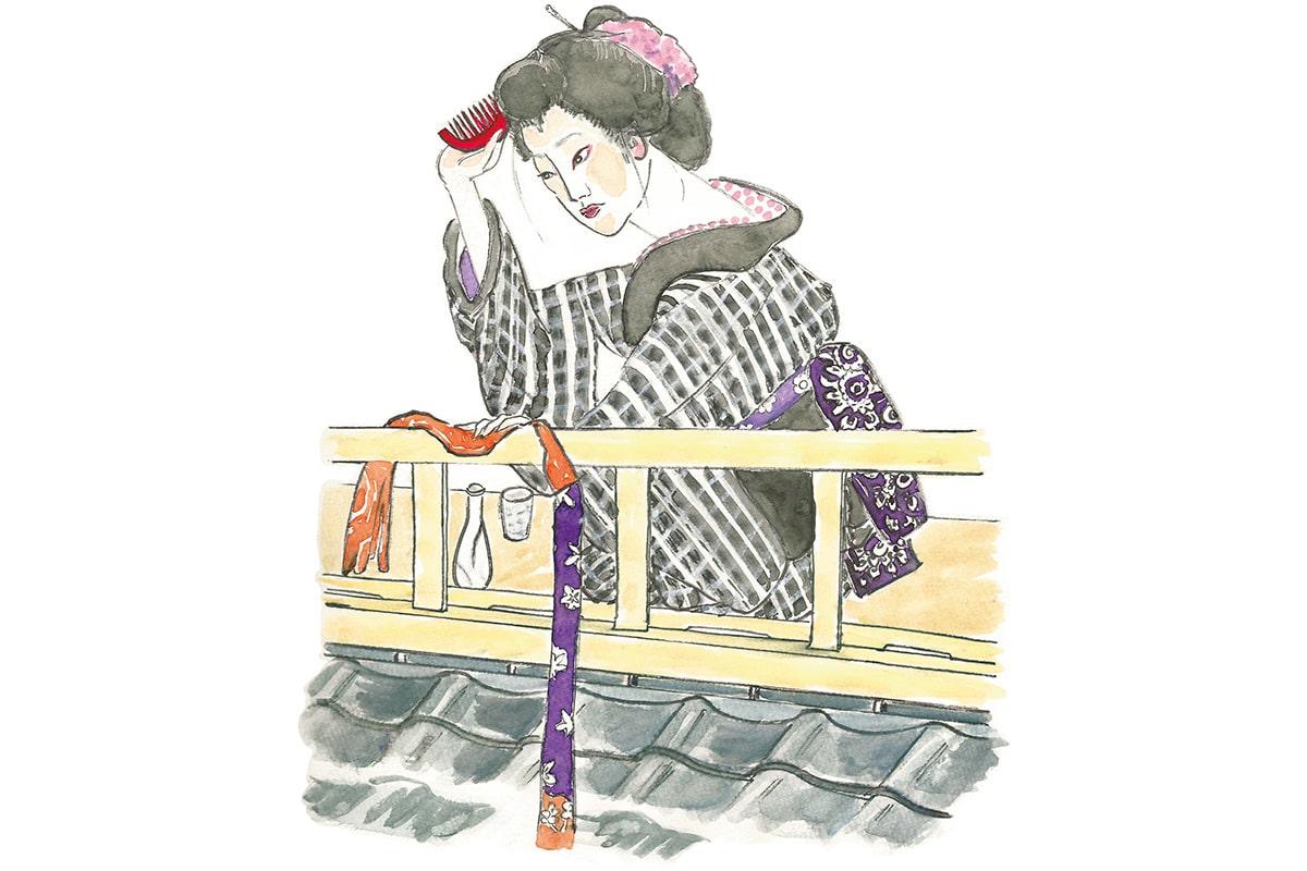 10年越しの恩返し!<br>「一本刀土俵入」お蔦と茂兵衛<br><small>おくだ健太郎の歌舞伎キャラクター名鑑</small>