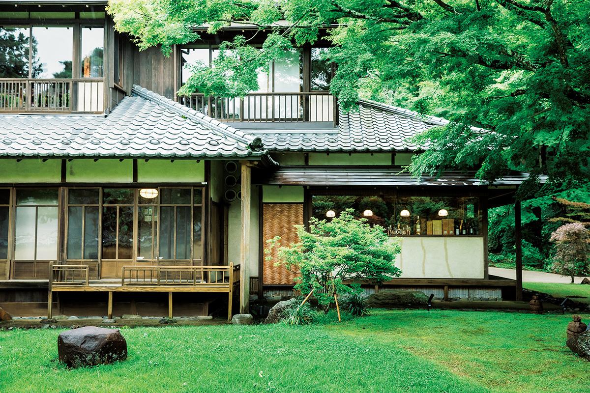 三井財閥の別荘を改築!大正時代の香りを残す、箱根の湯宿「翠松園」へ