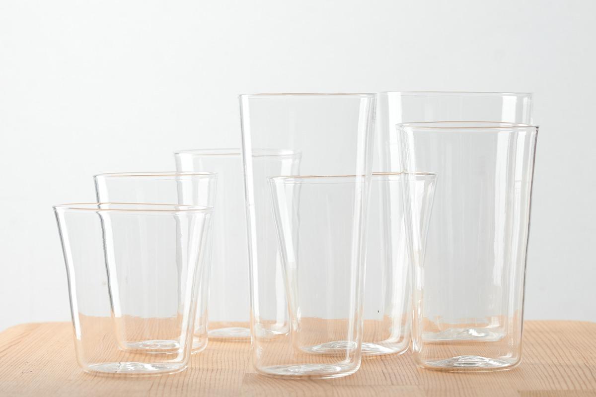 日常に幸福感をもたらしてくれる<br>木下宝さんのガラスの器