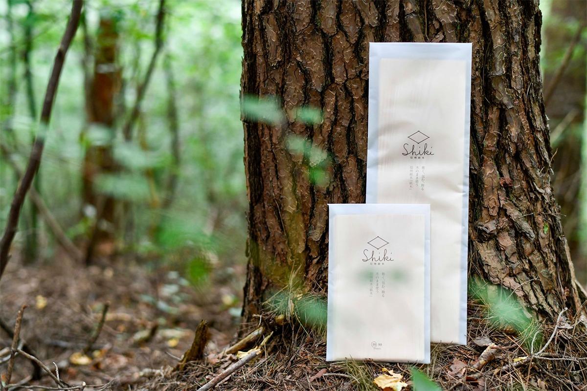 サステイナブルな伝統包装材<br>『信州経木 Shiki』