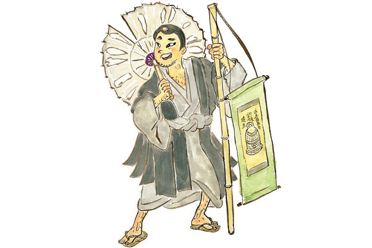 歌舞伎では珍しいドタバタ喜劇「隅田川続俤」<br><small>おくだ健太郎の歌舞伎キャラクター名鑑</small>