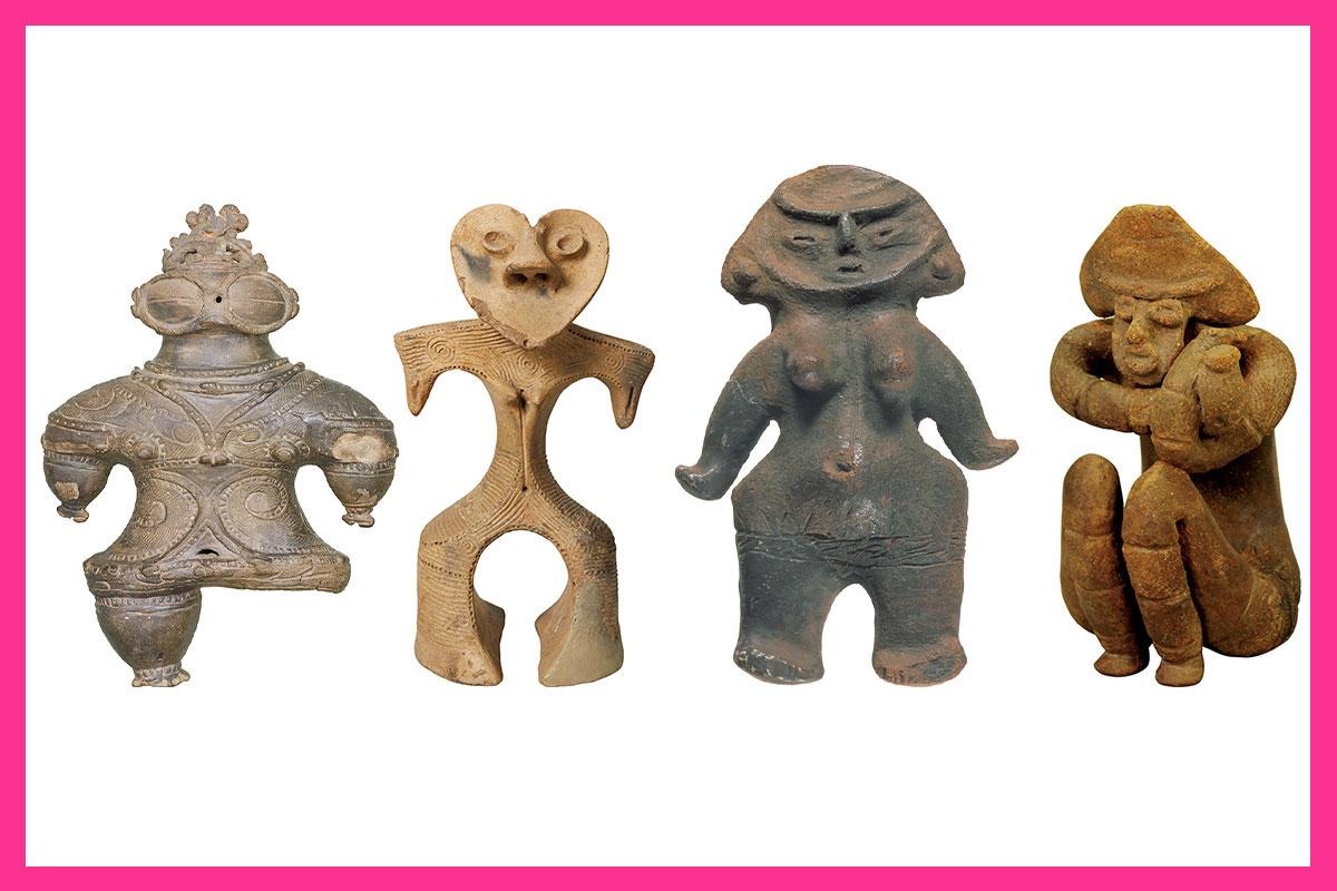 1万年間のミス土偶は誰だ?<br>美人土偶コレクション