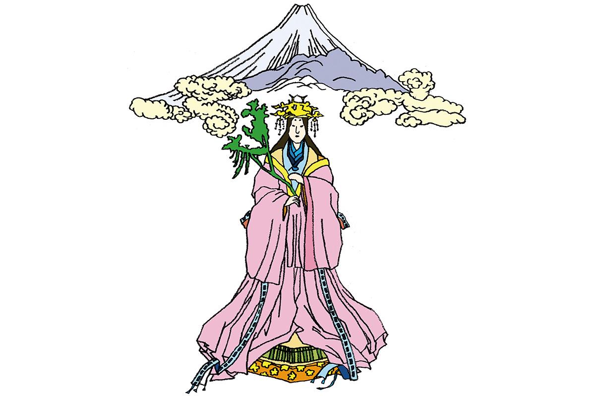 火難の神として富士山に祀られた美神<br>「木花之佐久夜毘売」<br><small>日本人なら知っておきたいニッポンの神様名鑑</small>