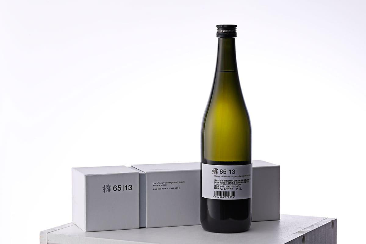 橘ケンチが聖夜に贈る、白糸酒造とのコラボ日本酒「橘6513」