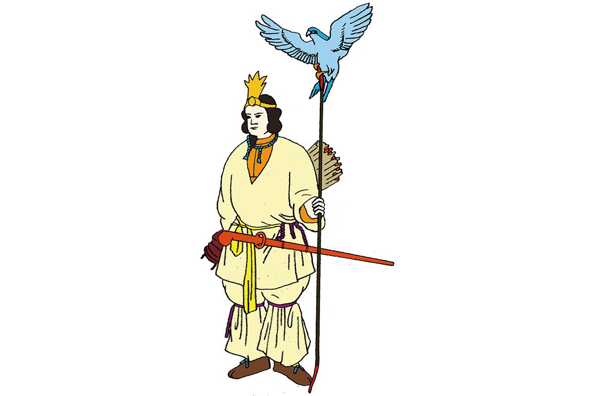 神を統合した日本国の創始者<br>「神武天皇」<br><small>日本人なら知っておきたいニッポンの神様名鑑</small>