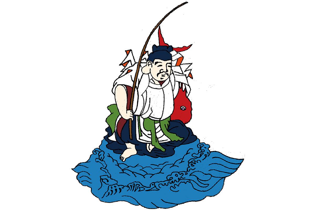 釣り好きの豊漁の神えびす様とも<br>「事代主神」<br><small>日本人なら知っておきたいニッポンの神様名鑑</small>