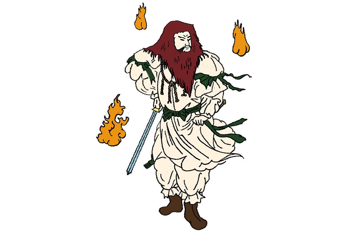 母イザナミに大やけどを負わせた火の神<br>「火之迦具土神」<br><small>日本人なら知っておきたいニッポンの神様名鑑</small>