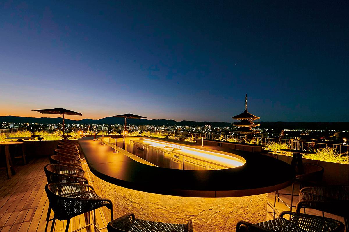 京都市内を360度のパノラマビューで愉しむ<br>『K36 The Bar & Rooftop』<br><small>京都の酒事情も進化しています!京都の最先端は夜にあり。</small>