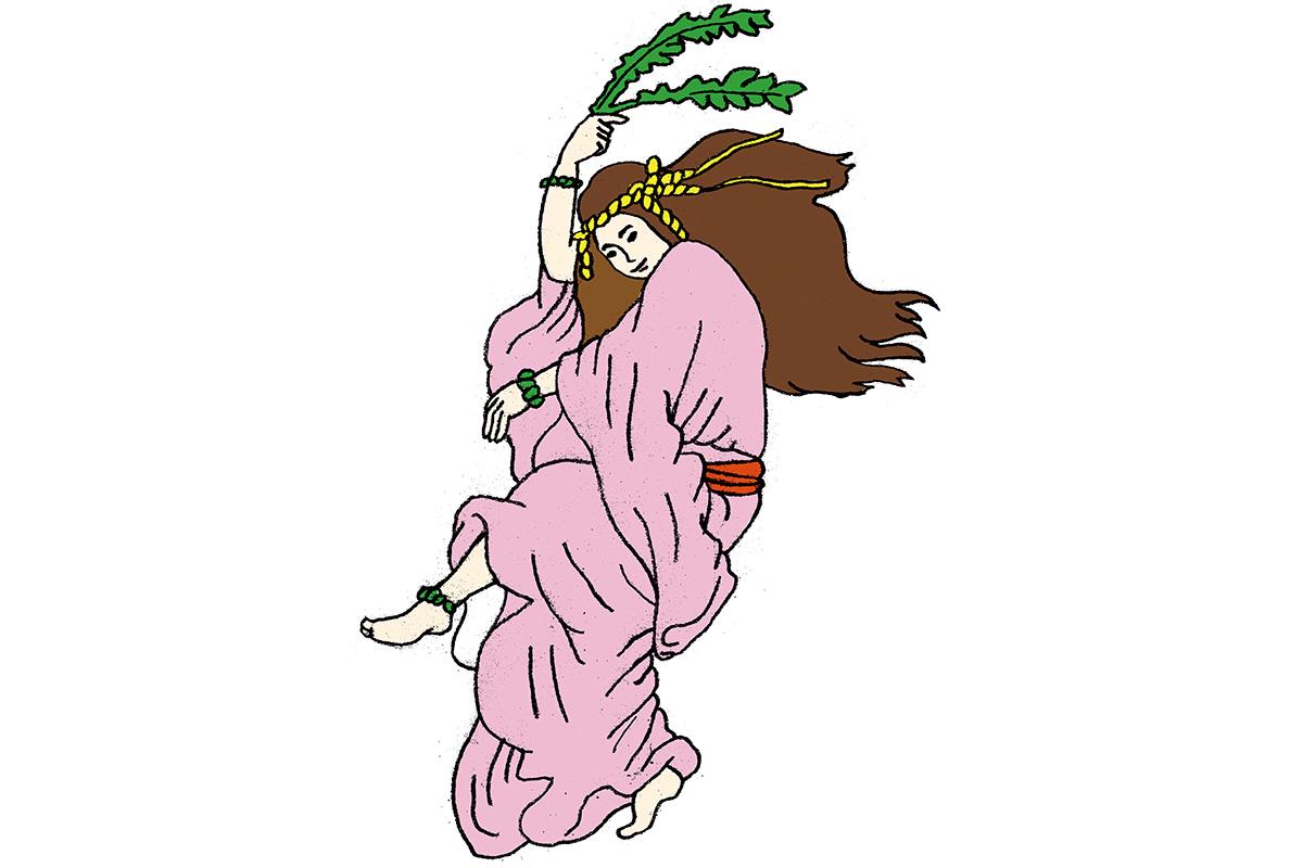 神々を沸かせた初の踊り子<br>「天宇受売命」<br><small>日本人なら知っておきたいニッポンの神様名鑑</small>
