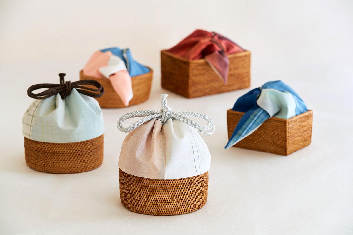 京都とバリの手仕事から生まれた茶籠。<br><small>アトリエシムラ×kras「とけあう季節」</small>