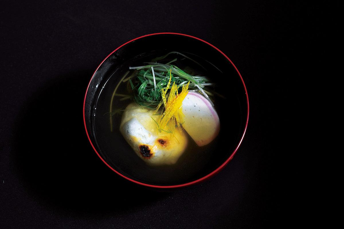 名家のお雑煮。<br><small>松本栄文さんの地域の文化を味わう「お雑煮図鑑」</small>