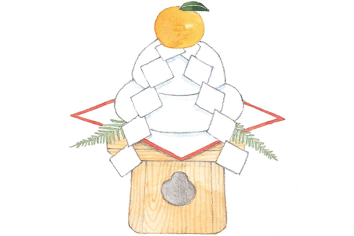 正月のシンボル・鏡餅は何のため?<br><small>正月の基本</small>