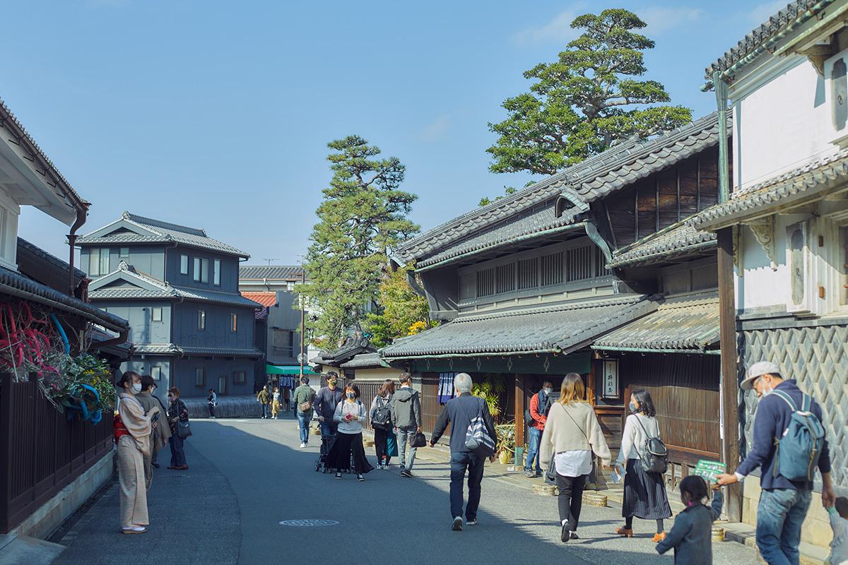 新しい風を取り入れ、伝統を受け継いでいく、<br>江戸情緒残る「絞り」の町・有松