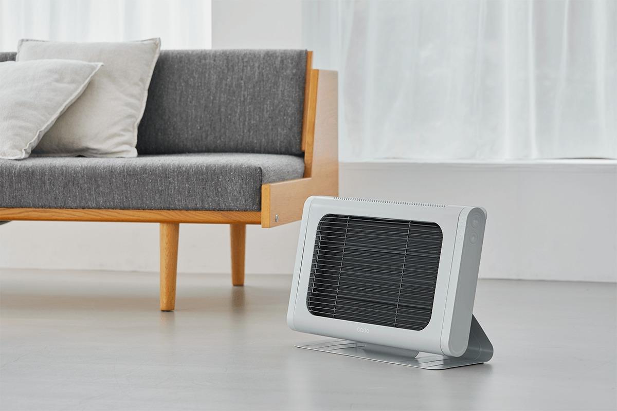 温もりをピンポイントにお届け。<br>「cado(カドー)」の電気ヒーター