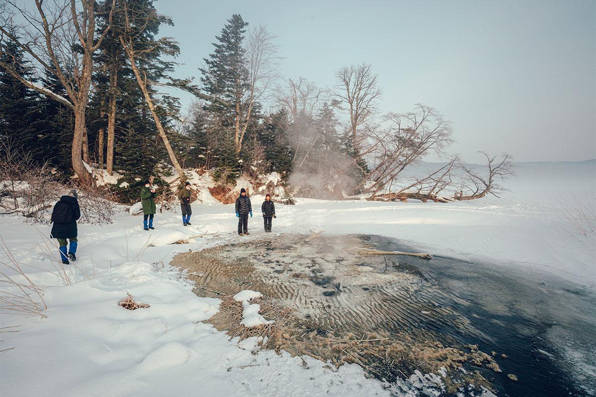 阿寒湖温泉でクリエイター3人がアイヌ文化と自然を体験!