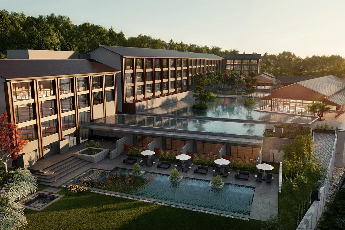 「ROKU KYOTO, LXR Hotels & Resorts」京都初進出 ヒルトンのラグジュアリーブランドホテルが鷹峯に2021年秋開業