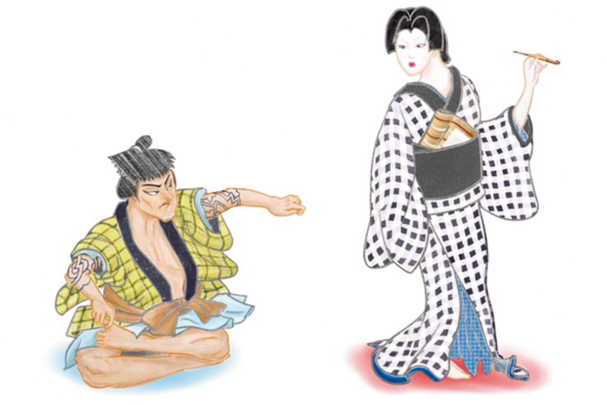多彩な表情が魅力のいいオンナ<br>「於染久松色読販」土手のお六<br><small>おくだ健太郎の歌舞伎キャラクター名鑑</small>