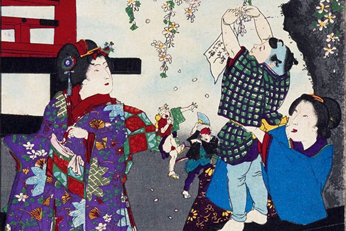 江戸時代の花見スタイルって?<br>園芸・意匠から見る近世の人と桜<br><small>「桜の意匠」国立歴史民俗博物館