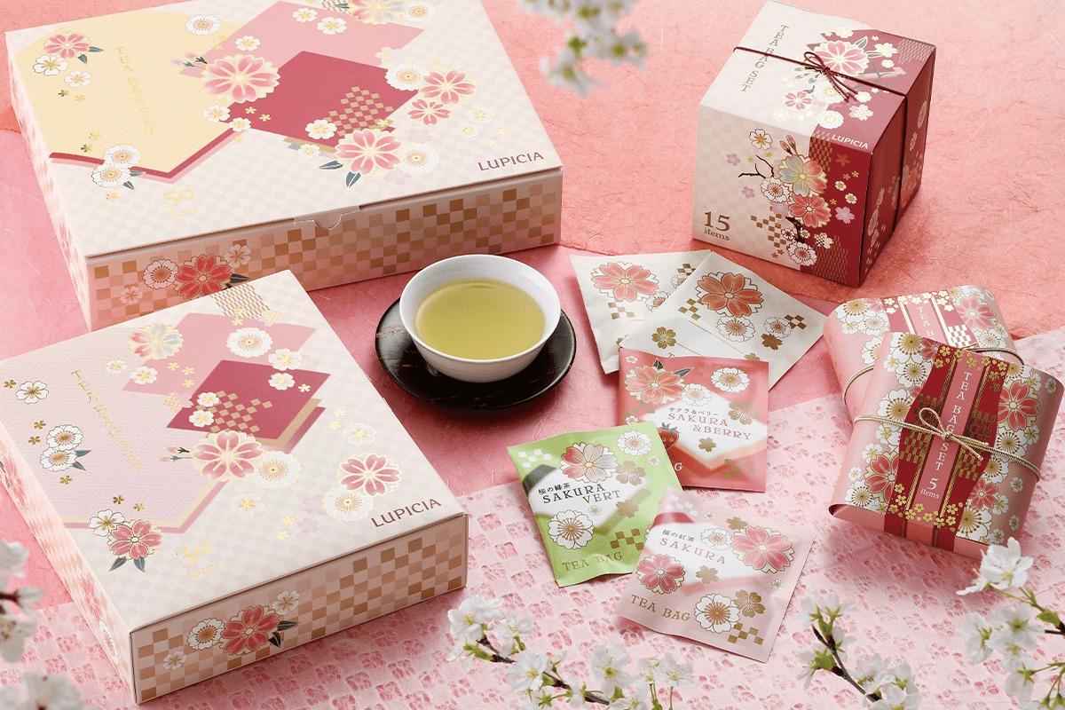 春を告げる桜の葉のやさしい香り。ルピシアの春限定「桜のお茶」シリーズ