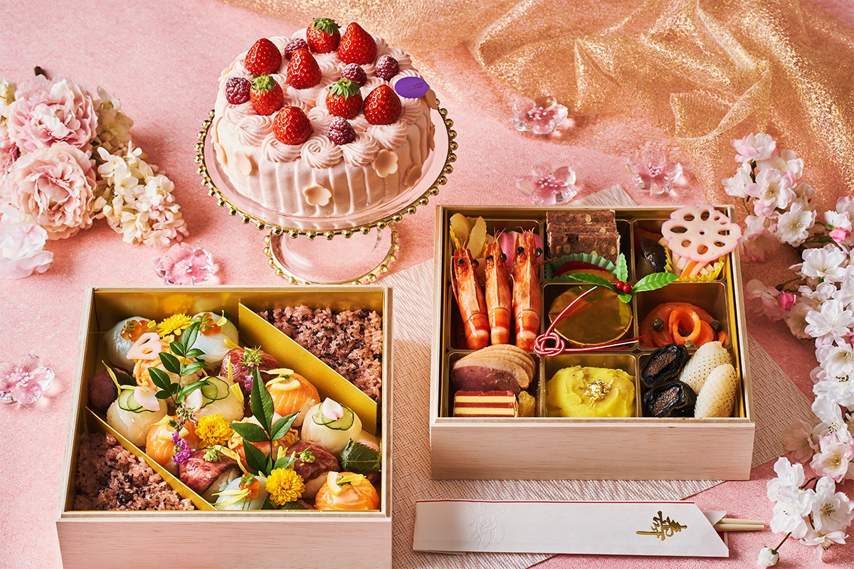 ひな祭りはお家で華やかにお祝いを。ホテル インターコンチネンタル 東京ベイから、桃の節句をお祝いする「おうちdeひな祭りセット」が新登場