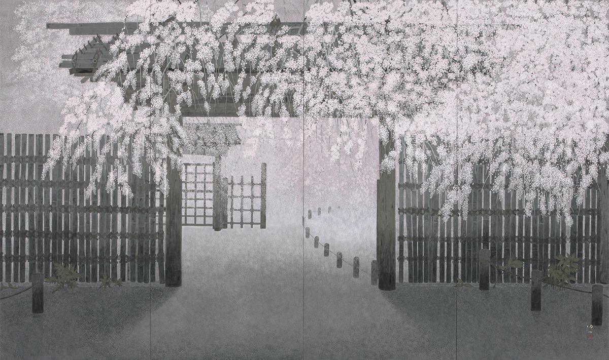 「現代日本画名品選Ⅰ 旅する日本画」を足立美術館にて開催