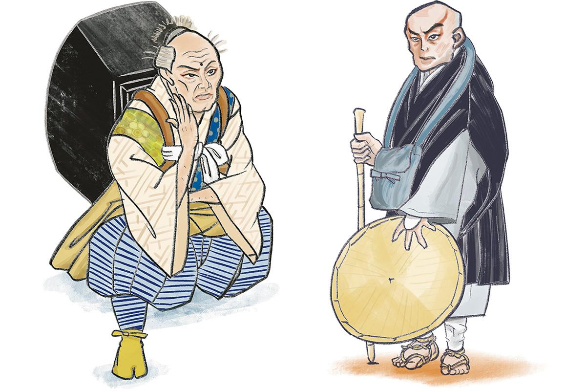 息子を身代わりにする戦の世の無常<br>「熊谷陣屋」熊谷直実<br><small>おくだ健太郎の歌舞伎キャラクター名鑑</small>