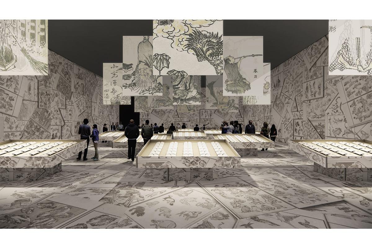 葛飾北斎生誕260年記念企画<br>特別展「北斎づくし」