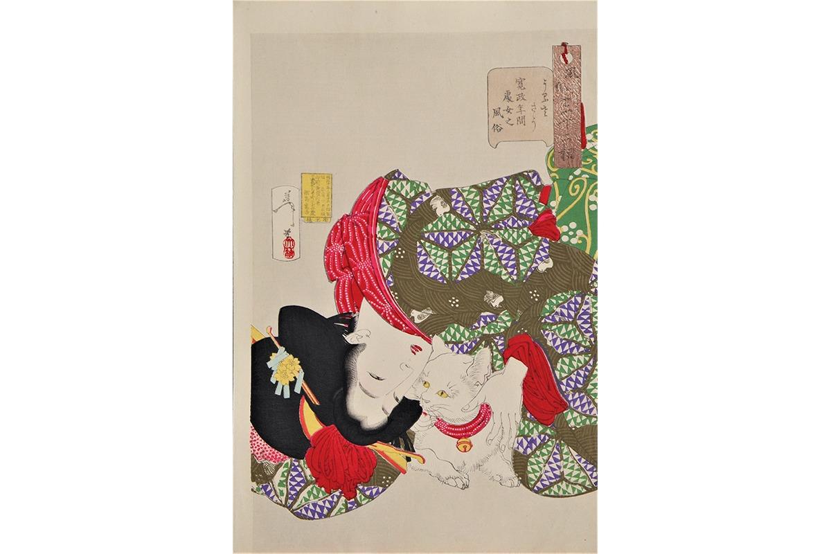 「最後の浮世絵師 月岡芳年展」が金沢21世紀美術館にて開催