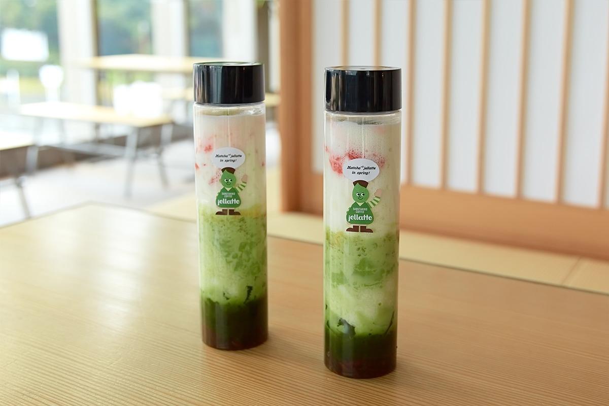 猿田彦珈琲から和の食材にこだわった新たなスイーツドリンク「春の!抹茶まっちゃジェラッテ」が登場