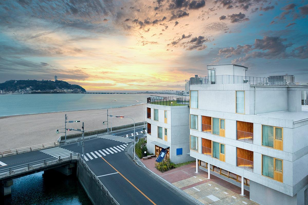 鎌倉 松原庵が作るホテル「HOTEL AO KAMAKURA」