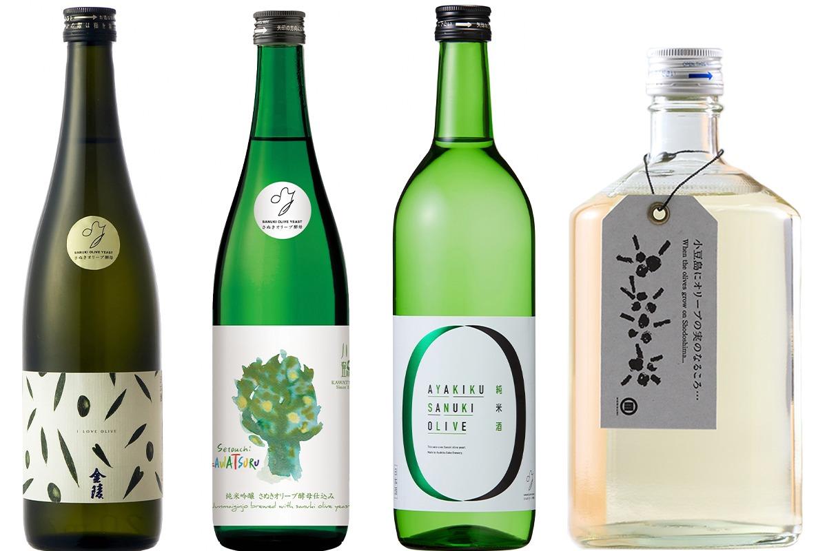 オール香川で仕込まれた、さぬきオリーブ酵母の日本酒
