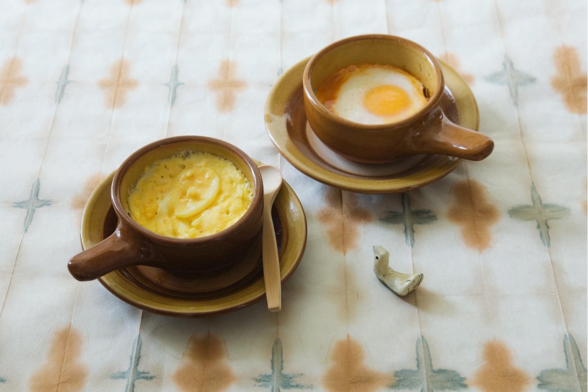 「湯町窯のエッグベーカー」<br>英国の気品まとう民藝の名品でごはんをつくろう。後編