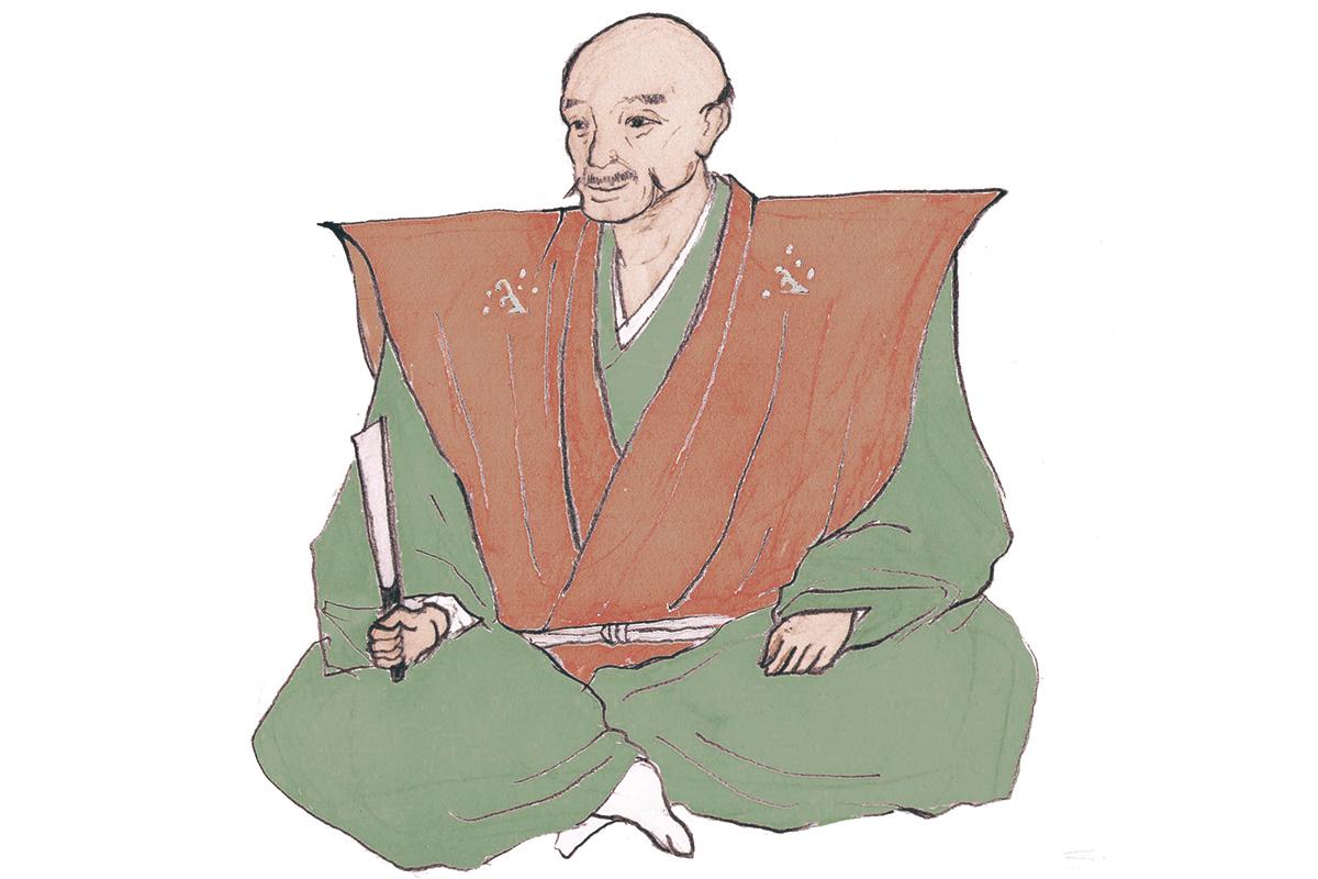 ザ・下克上の代表的人物、<br>斎藤道三<br><small>「戦国武将名鑑」</small>