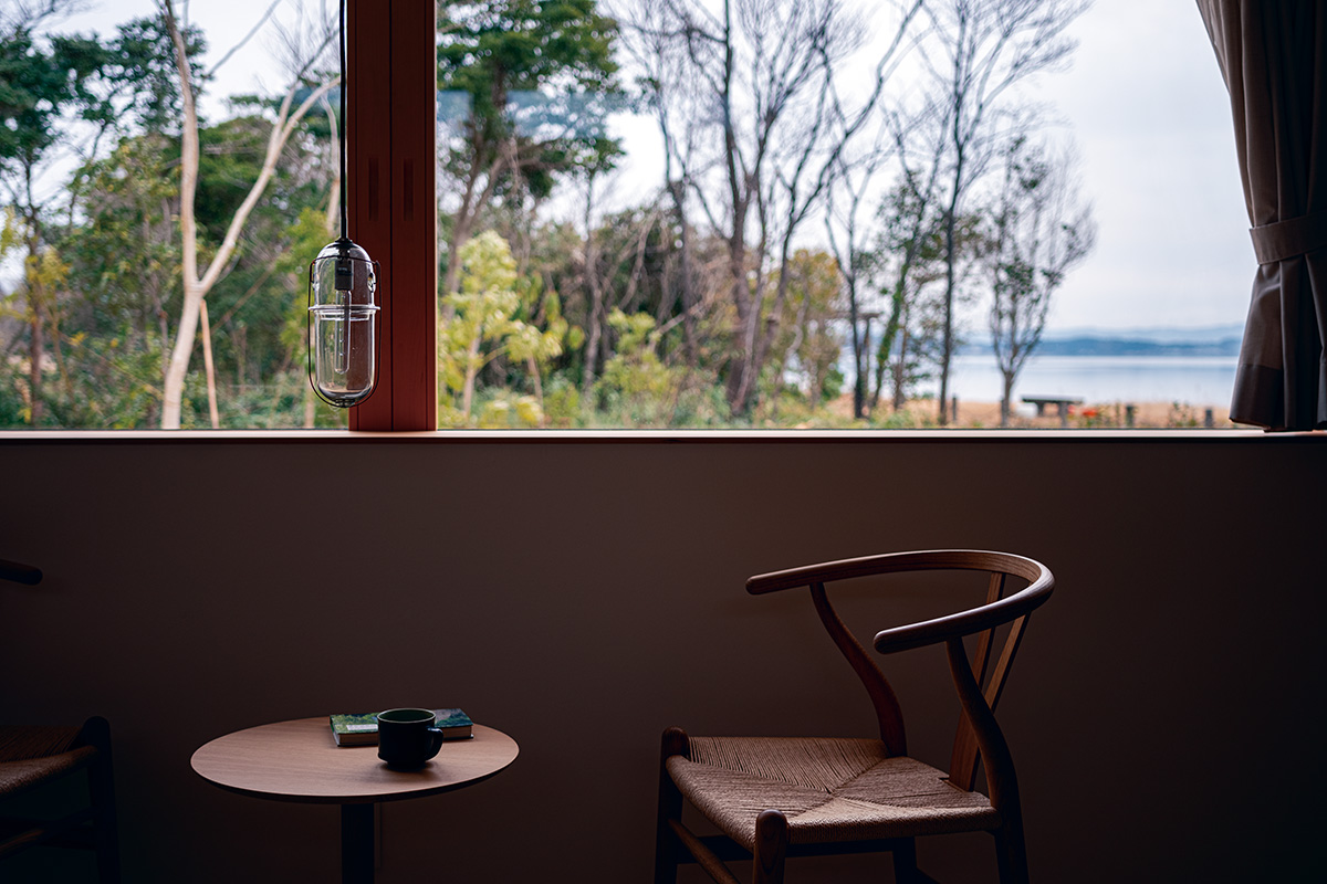 「villa della pace」<br>能登の里山里海を独り占め!<br>七尾湾を眺めながら何もしない時を。