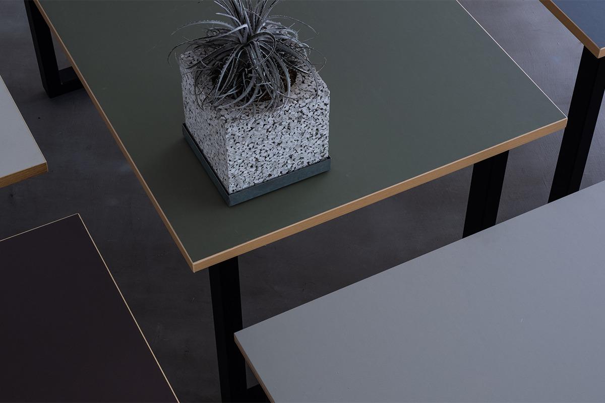 今注目の建築素材・リノリウムを使った新進気鋭のインテリアブランド「Kanademono」