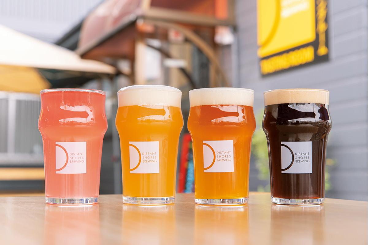「ディスタント・ショアーズ・ブルーイング / Distant Shores Brewing 」<br>東村山のブルワリーで造りたてのフラッシュなビールを味わう