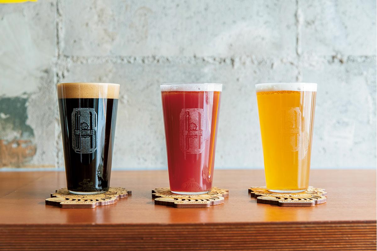 クロウラーでクラフトビールをテイクアウト!<br><small>東京都・東十条「Let's Beer Works」<br>東京都・渋谷「TAP&CROWLER」</small>