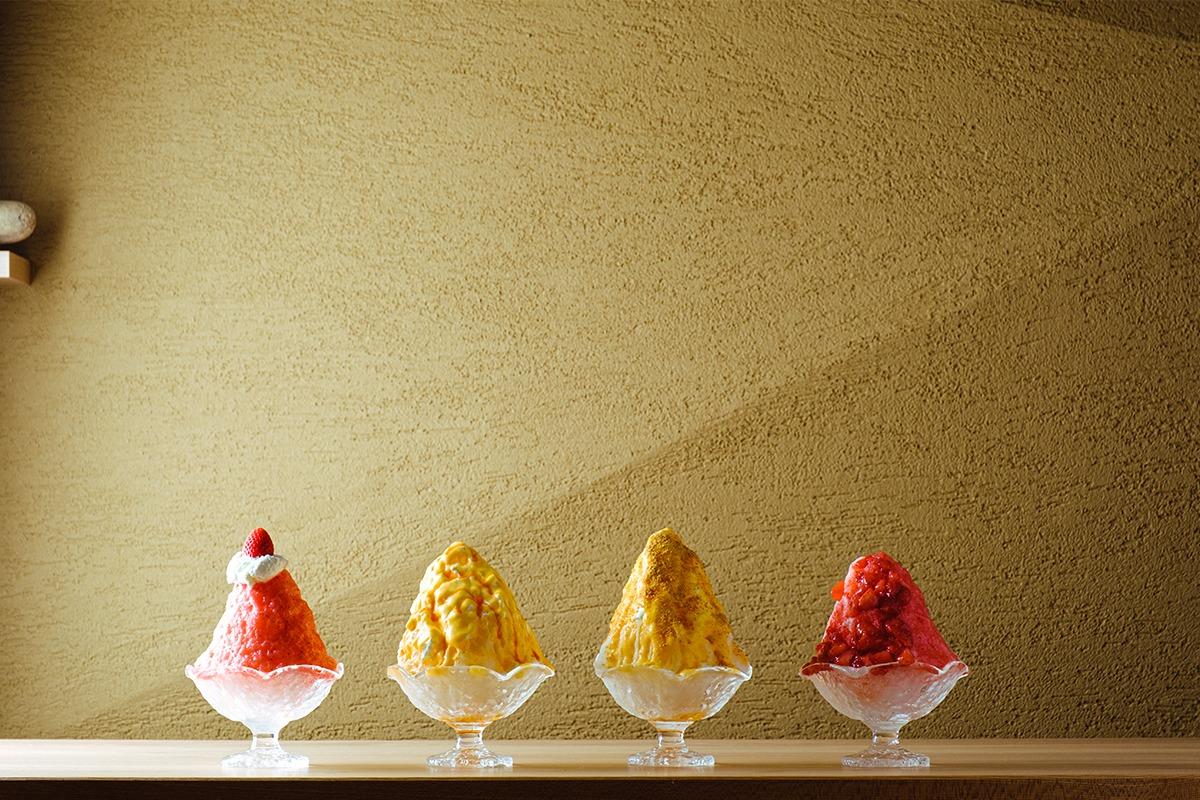「さんかく氷」鳥取砂丘のプリン屋が作る、濃厚で新食感のかき氷専門店