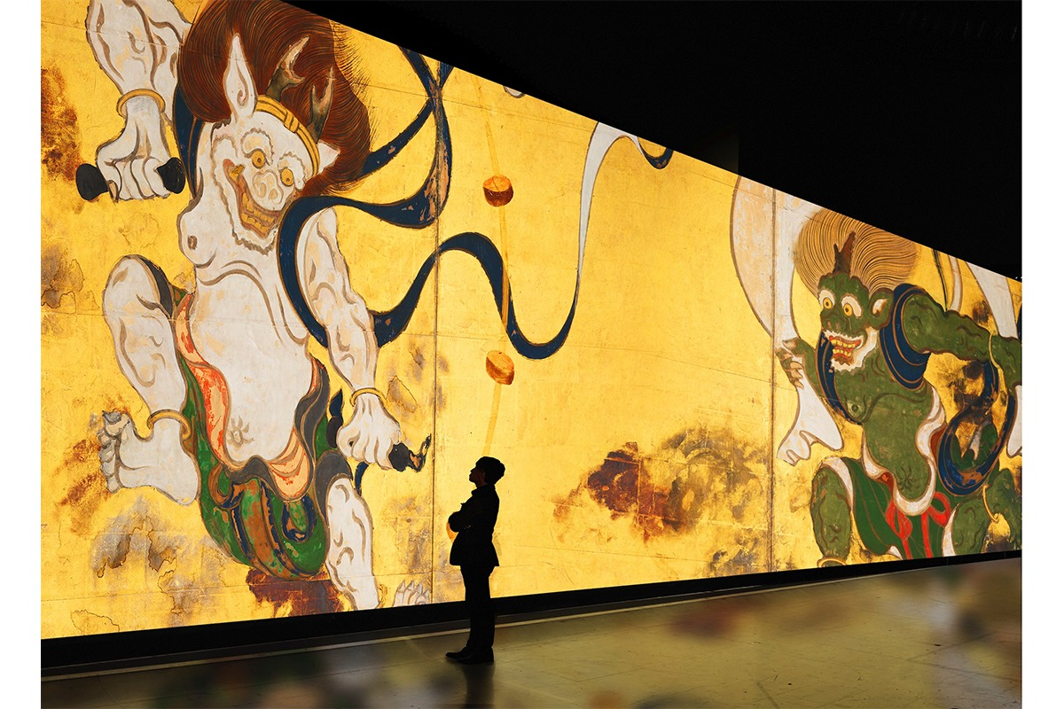 「巨大映像で迫る五大絵師」新感覚デジタルアート展で日本美術の歴史的傑作を堪能!