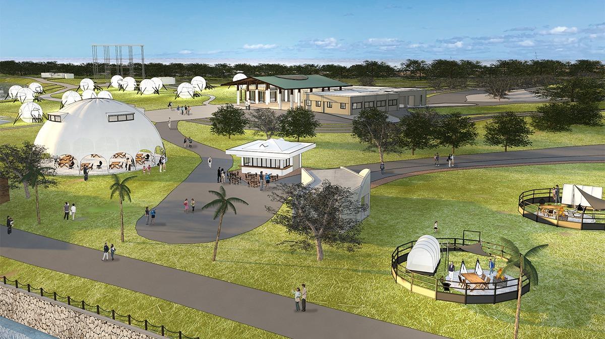 """海の中道海浜公園に""""パーク・ツーリズム""""をテーマにした「滞在型レクリエーション拠点」が2022年3月に誕生。"""