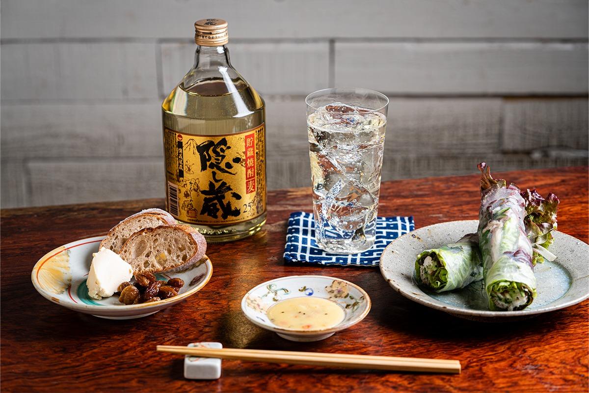 夏の晩酌に!麦焼酎「隠し蔵」ハイボールと発酵おつまみレシピ<br><small>「濵田酒造」
