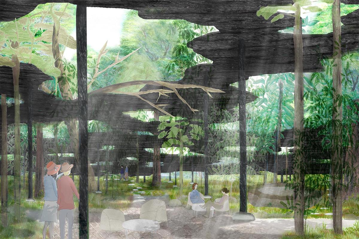 kudan house《九段ハウス》に、石上純也の作品を眺む夏期限定レストラン「メゾンアウル・プロローグ」がオープン。