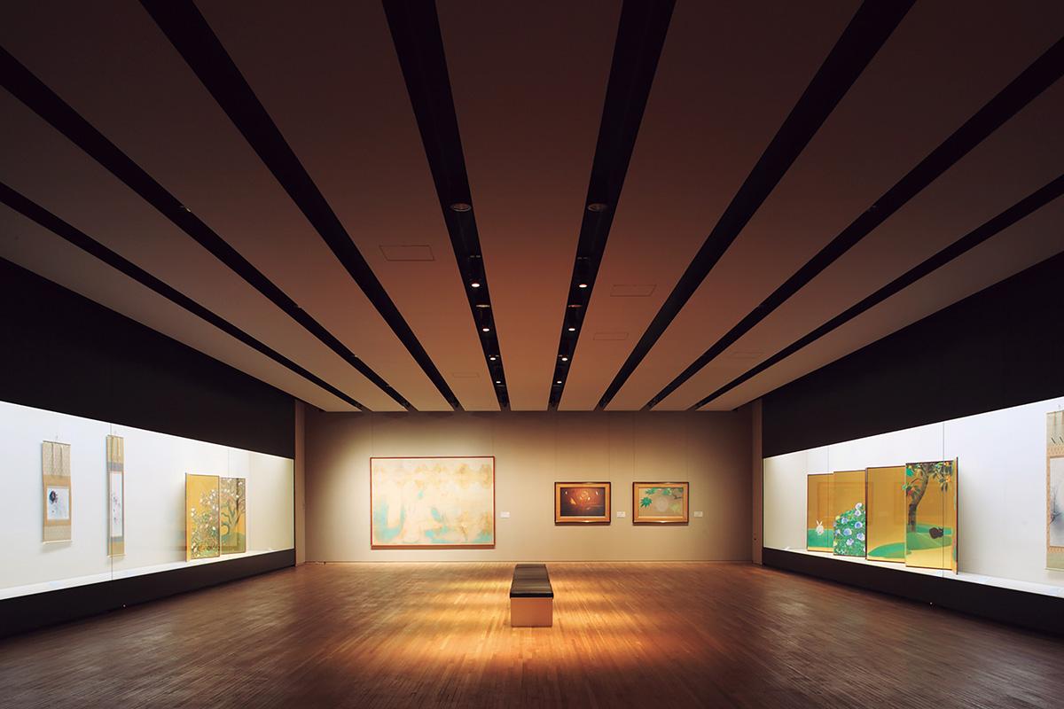 山種美術館<br>「日本画の魅力を幅広く発信する美術館」